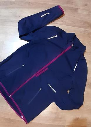 Спортивна курточка на мікрофлісі crane