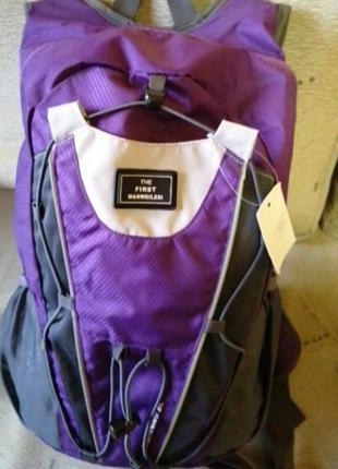 Рюкзак спортивный фиолетовый 💜 manwellesi