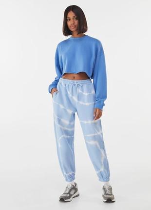Джоггеры, штаны тай дай принт, брюки спортивные, штаны спортивные