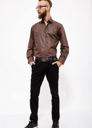 Рубашка свободная для стильного мужчины с рукавом- xs s