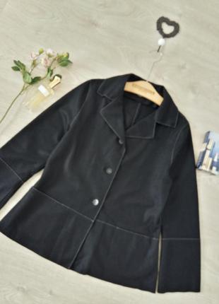 Amette görtz made ingermany-тепленький пиджак из натуральной  шерсти