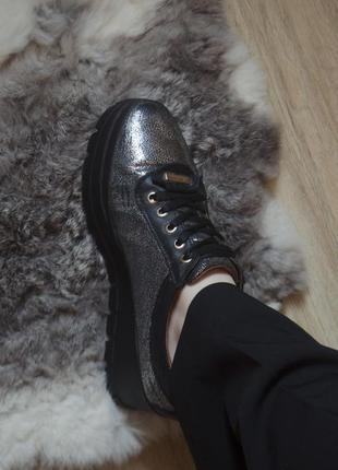 Крутые оксфорды с шнурками на платформе fashion