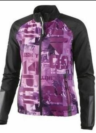 Женская лёгкая спортивная кофта ветровка куртка crivit германия