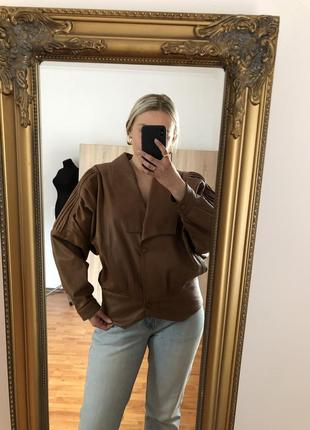 Куртка винтаж 80-е натуральная кожа