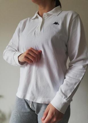 Kappa поло с длинным рукавом