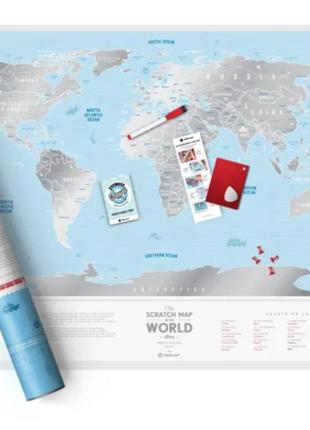 Скретч-карта европы2 фото