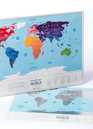 Скретч-карта европы6 фото