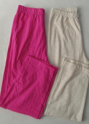 Набор 2 шт. штаны пижамные 7-8 лет 128 см primark