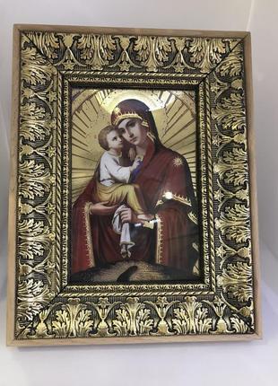 Икона «владимирская божья матерь «