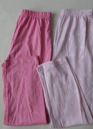 Набор 2 шт. пижамные штаны primark англия 9-10 л