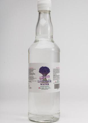 Лавандовая вода гидролат в стекле lavandula angustifolia 500 мл из болгарии