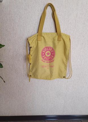Стильная яркая сумка, сумка-рюкзак, шопер kipling, оригинал