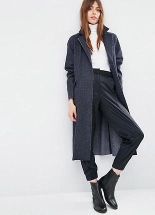 Oversize-пальто с необработанными краями asos