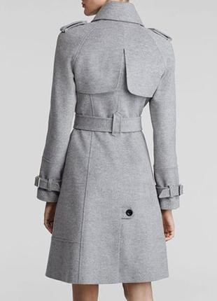Пальто шерсть кашемир karen millen размер s-m