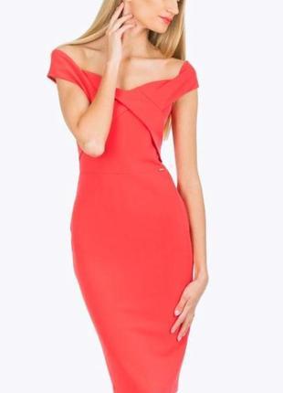 Сукня плаття  платье карандаш  миди по фигуреguess xs