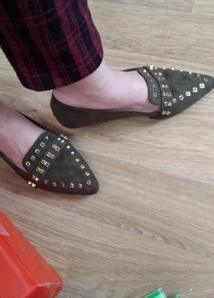 Балетки туфли мокасины женские