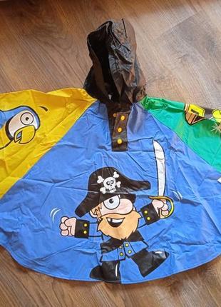 Дождевик пончо пират