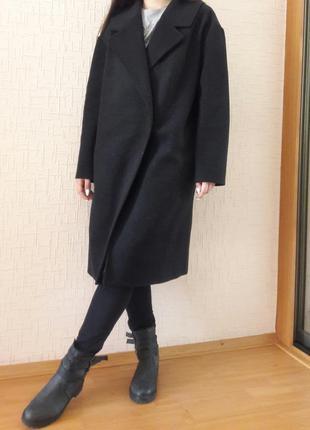 Пальто oversize  из натуральной шерсти качество!!!!