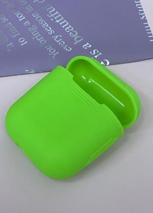 Яркий силиконовый чехол для airpods 1 2 series