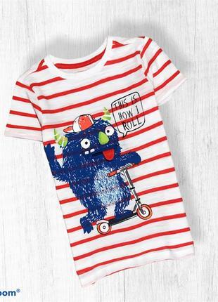 Nutmeg веселая яркая футболка на мальчика