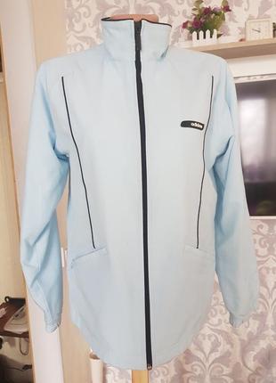 Стильная куртка ветровка с коттона и бамбука