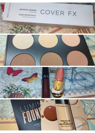 Лот декоративной косметики mac, sephora, pat mcgrath