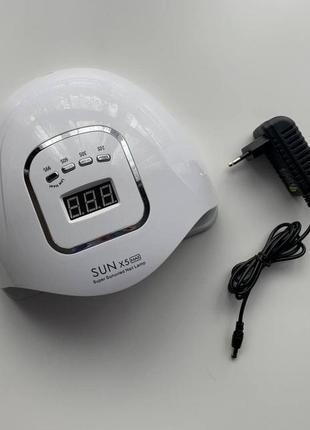 Лампа для манікюру led/uv  sun x5 max