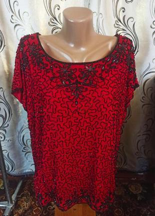 Шикарная блуза на пышные формы heather valley
