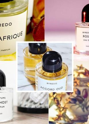 Byredo parfums оригинал распив бренда в ассортименте нишевая парфюмерия