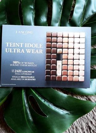 Пробник тонального крему lancome teint idole ultra wear