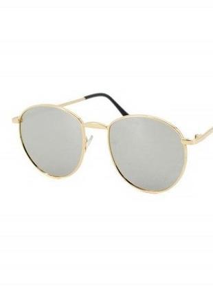 Солнечные очки с зеркальными линзами sumwin c4 в оправе металл