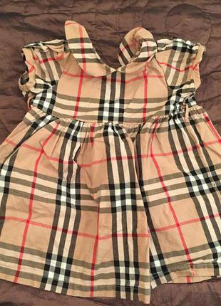 Платье барбери