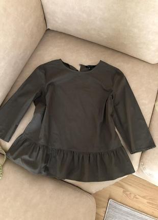 Блуза трапеция