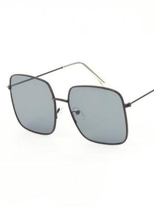 Квадратные солнцезащитные очки sumwin в черной легкой оправе
