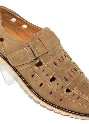 Летние мужские туфли баталы al1850-12
