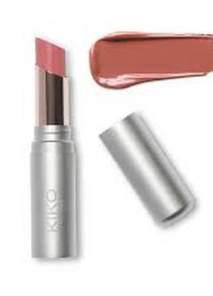 Увлажняющая помада hydra shiny lip stylo от kiko milano оттенки 02 и 16