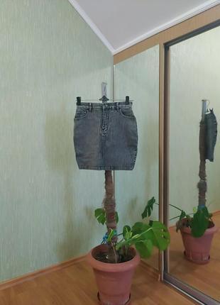 Серая юбка