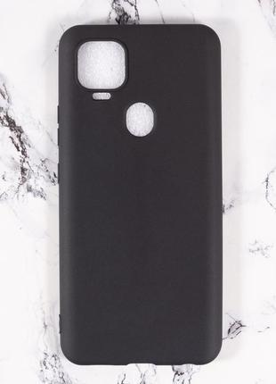 Силиконовый чехол бампер для zte blade v2020 черный