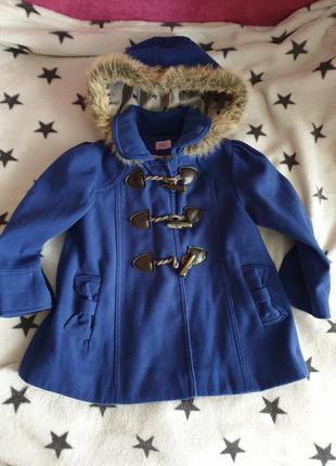 Пальто пальтишко демисезонное 2-4лет