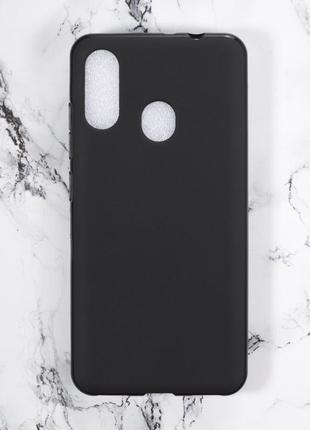 Силиконовый чехол бампер для zte blade v10 vita черный