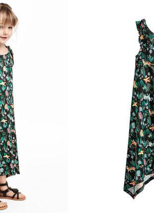 841c06917d2 Стильные длинные платья для девочек h m H M
