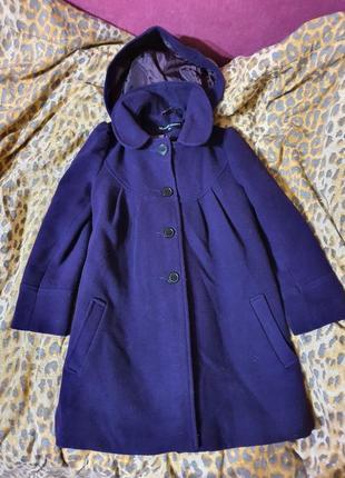 Пальто пальтишко демисезонное 7-8лет