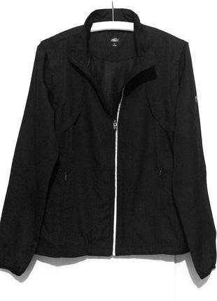 Crane женская черная спортивная куртка ветровка жилетка