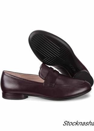 Ecco anine стильные женские туфли р. 37,39,40, 41