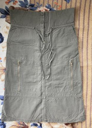 Стильная юбка для беременной h&m