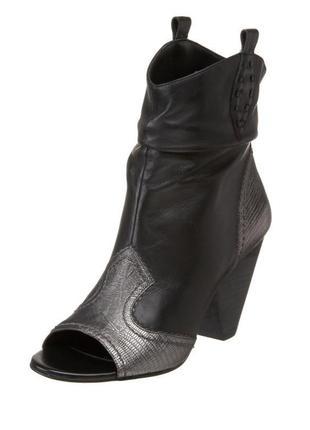 Bcbg оригинал, ботинки с открытым носком.