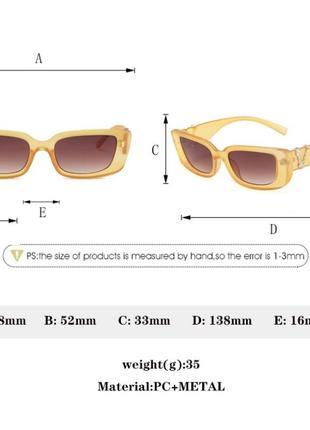 Самые модные солнцезащитные очки 2021 года в стиле versace7 фото
