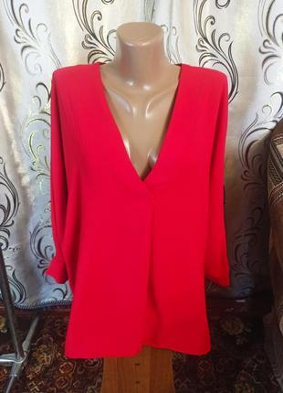 Шикарная блуза на пышные формы