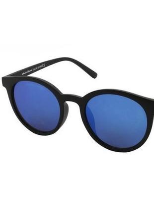 Очки солнцезащитные retro imidge c4 с зеркальными синими линзами