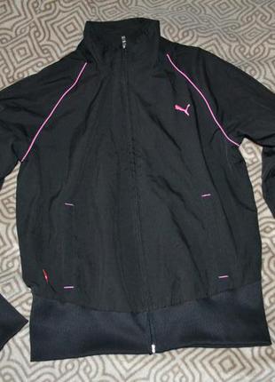 Спортивная кофта матсерка ветровка puma размер s оригинал